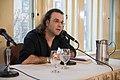 European Voices A Reading & Conversation with Christos Ikonomou and Karen Emmerich (26539967916).jpg