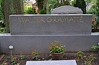 Evangelischer Friedhof Berlin-Wilhelmshagen - Grab Gramattè 3.JPG