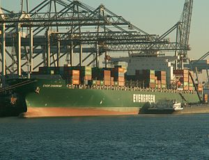 Ever Charming, at the Amazone harbour, Port of Rotterdam, Holland 29-Jan-2006.jpg