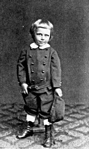 Hanns Heinz Ewers - Hanns Heinz Ewers at the age of 4.