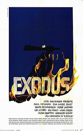 Description de l'image Exodus poster.jpg.