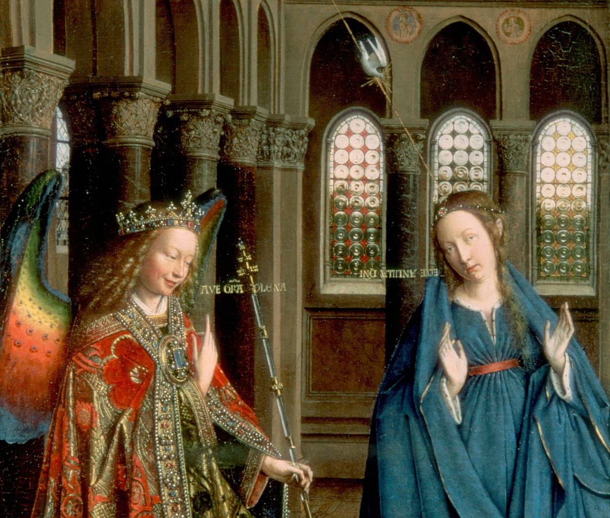 Annunciation (van Eyck, Washington) - Wikipedia