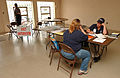 FEMA - 32609 - FEMA mitigation representative talks to resident in Ohio.jpg