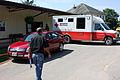 FEMA - 35586 - FEMA PDA team member with Red Cross truck in West Virginia.jpg