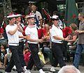 FIL 2008 - Bagad de Lann-Bihoué en défilé.JPG