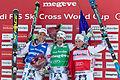 FIS Ski Cross World Cup 2015 - Megève - 20150313 - Bastien Midol, Sylvain Miaillier et Jean-Frédéric Chapuis 2.jpg