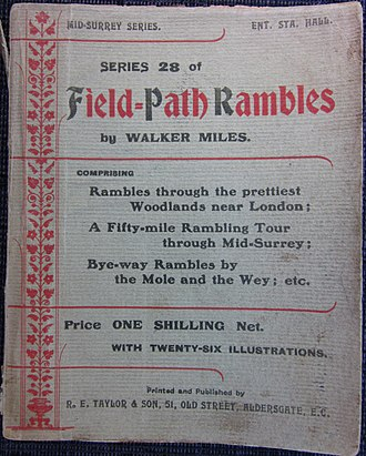 Edmund Seyfang Taylor - Series 28 of Field-path rambles