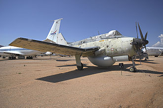 Fairey Gannet AEW.3 - Gannet AEW.3 XL482 is displayed at the Pima Air & Space Museum, Arizona