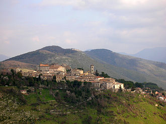 Fara in Sabina - Panoramic view