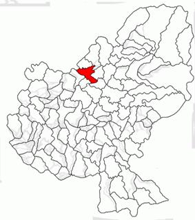 Fărăgău Commune in Mureș, Romania