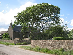 Bank Houses - Image: Farm at Bank Houses (geograph 2405165)