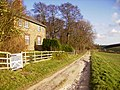 Farm cottages serving Thixendale Grange - geograph.org.uk - 316229.jpg