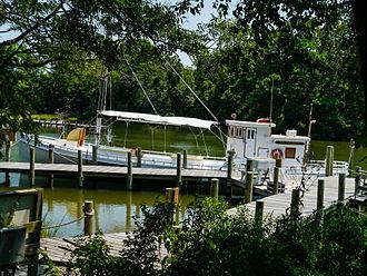 Oyster buy-boat - ''F.D. Crockett''