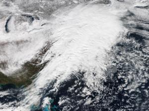 January 31 – February 2, 2015 North American blizzard - Image: Feb 22015Blizzard