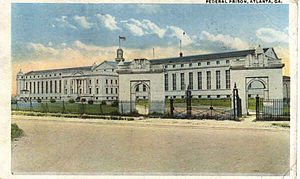 United States Penitentiary, Atlanta - Federal Penitentiary Atlanta 1920 postcard