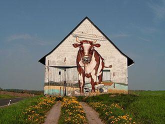 Hunsrück - Barn near Bell
