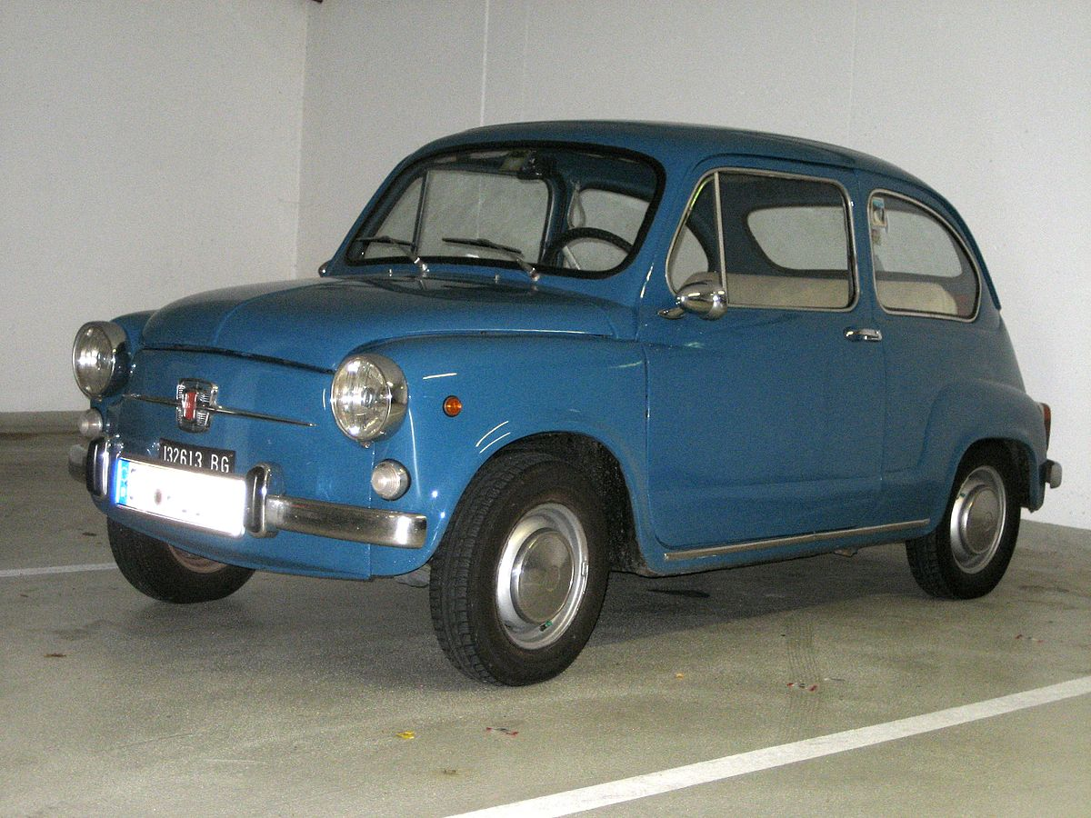 Fiat 600 Wikipedia Vw Wiring Diagram For 1961