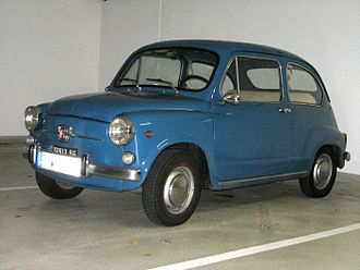 Fiat 600 - Image: Fiat 600