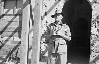 William Slim, 1st Viscount Slim - Field Marshal Sir William Slim, General Officer Commanding Fourteenth Army in Burma, 5 March 1945.