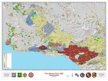 Solimar Beach Fire Map.Thomas Fire Wikipedia