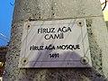 Firuz Ağa Mosque - جامع فيروز آغا - Mosquée de Firuz Agha - Firuz Ağa Camii photo1.jpg