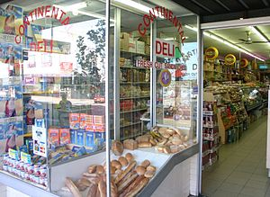 Delicatessen - An Italian-style delicatessen in Five Dock, Sydney