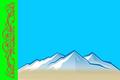 Flag of Tashtypsky selsovet (Khakassia) (2012).png