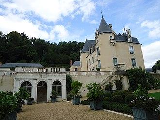 Flée, Sarthe - The chateau of la Motte-Thibergeau, in Flée