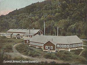 Hardwick, Vermont - Fletcher Granite Co. c. 1907
