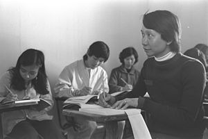 Ulpan - Ulpan for Vietnamese refugees in Afula, 1979