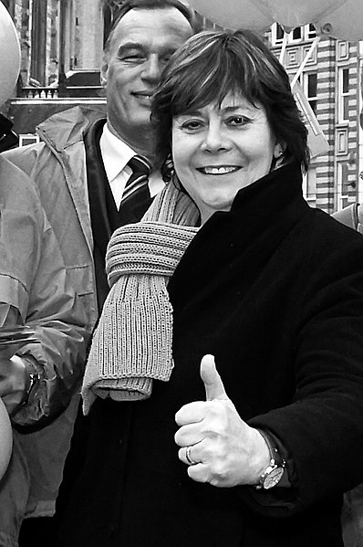 File:Flickr - NewsPhoto! - politici in zwart-wit, Rita Verdonk (Trots).jpg