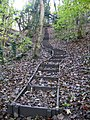 Flight of steps at Moss Valley Country Park - geograph.org.uk - 1037597.jpg
