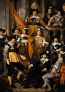 Flinck, Govert - The Company of Captain Albert Bas and Lieutenant Lucas Conijn - 1645.jpg