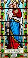 Fontenilles (Mazeyrolles) - Église Saint-Clair - Vitraux -3.JPG
