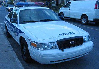 Service de police de la Ville de Laval - Ford Crown Victoria Police Interceptor from the Laval Police.