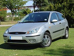 Ford Focus 1.8 Zetec (European RHD model)