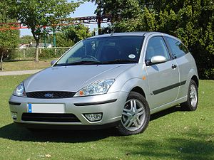 Ford of Europe - 2001 Ford Focus Mark I