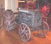 The first Fordson, now owned by the Henry Ford Museum