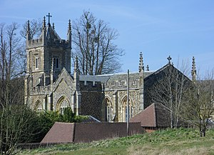 Henry Drummond (1786–1860) - The Catholic Apostolic church built at Albury Park in 1840 for Drummond