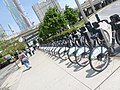 Formerly Bixi, now Bike Share Toronto, foot of Yonge, 2014 06 18 (5).JPG - panoramio.jpg
