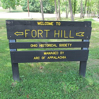 Fort Hill State Memorial - Image: Fort Hill 1