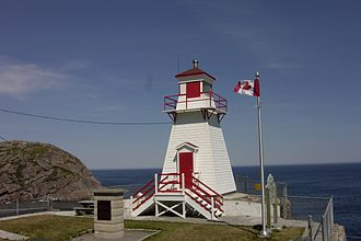 Fort Amherst, St. John's - Fort Amherst Lighthouse