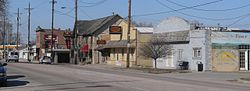 Downtown Fort Calhoun: U.S. Highway 75