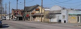 Fort Calhoun, Nebraska - Downtown Fort Calhoun: U.S. Highway 75