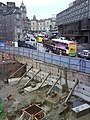 Foundations at the top of Leith Street - geograph.org.uk - 1463094.jpg
