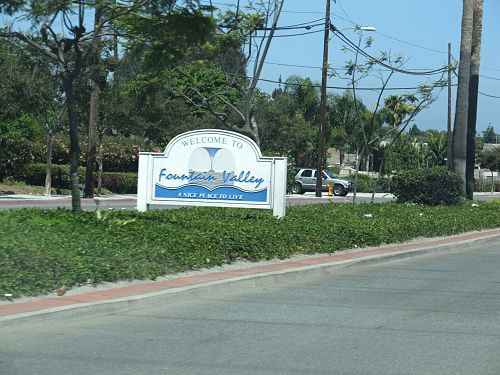 Fountain Valley mailbbox
