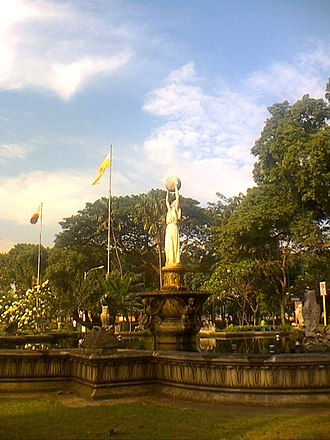 Education in the Philippines during Spanish rule - Fountain of Wisdom at the University of Santo Tomás