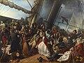François-Auguste Biard - Mal de mer sur une corvette anglaise (1857).jpg