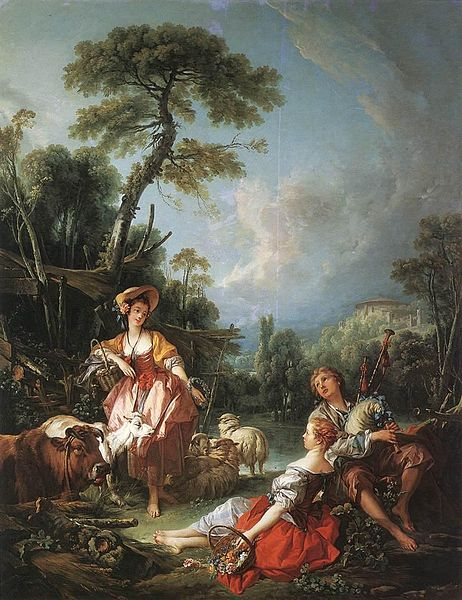 Boucher El Bano De Diana.Francois Boucher Wikiwand