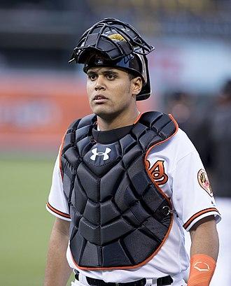 Francisco Peña (baseball) - Pena with the Orioles in 2016..